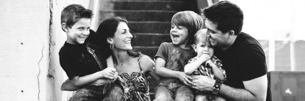 Trey, Dani and Kids